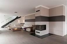 offene küche mit wohnzimmer offene wohnzimmer mit stylischer treppe im raum wohnung