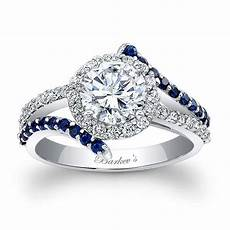 barkev s engagement ring with blue sapphires 7857lbs