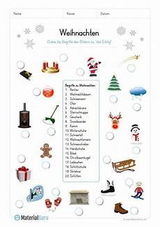 Malvorlagen Vorschule Deutschland Arbeitsblatt 20 Abbildungen Zu Weihnachten Zuordnen