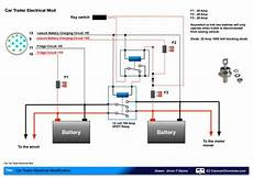 leisure battery charging circuit diagram car trailer trailer wiring diagram car