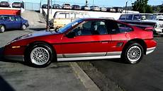 1987 pontiac fiero gt mid engine sports car youngtimer