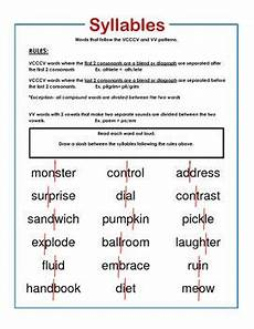 words their way sort 15 vcccv and vv syllable rules word study words their way sorts