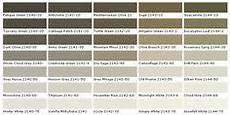 kwal paint color chart paint chart chip sle swatch palette color charts exterior