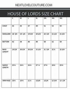Mens Business Shirt Size Chart House Of Lords Clothing Men Dress Shirt Measurement