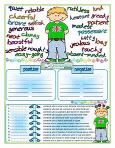 describing s personality worksheets 15903 adjectives personality traits 1