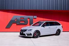 Updated Skoda Octavia Rs Makes 315 Hp Thanks To Abt Tuning