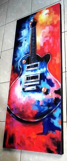 Gambar Gitar Lukisan Gambar Gitar