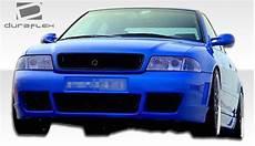 1996 2001 audi a4 s4 b5 duraflex rs4 front bumper cover 1 piece xsv custom auto