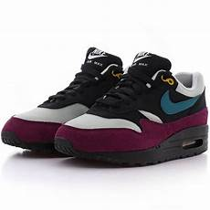 nike wmns air max 1 black geode teal light silver bordeaux