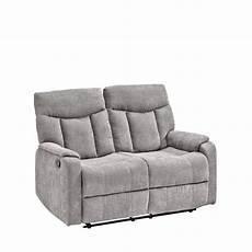 2 Sitzer Fm 3015 2 Grau Couch Relaxfunktion Wohnzimmer