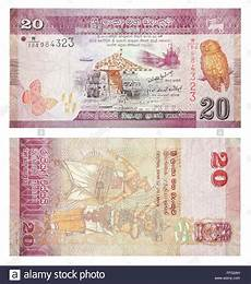 Sri Lanka Rupie - banknotes 20 sri lankan rupees stock photo 95624777 alamy