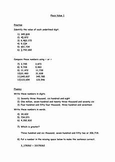 place value worksheets primary resources 5247 place value worksheet year 6 teaching resources