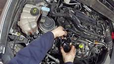 ford mondeo 2 0 tdci mk5 fuel filter service change