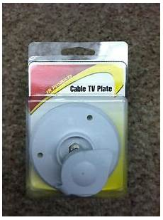 Tv Plate Rv Replacement Exterior Cable Tv Plate Outlet With Cover