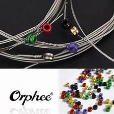 medium guitar strings orphee 6pcs electric guitar string set acoustic guitar strings nickel alloy medium tension