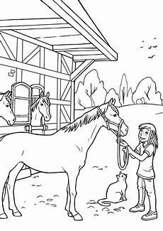 malvorlage pferd bauernhof amorphi
