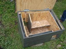 insulated cat house plans alley cat allies has a great web page with loads of