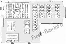 Fuse Box Diagram Gt Mercury Mountaineer 2002 2005