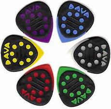 guitar picks with grips 6 dava grip tips guitar picks plectrums players pack of 6 picks ebay