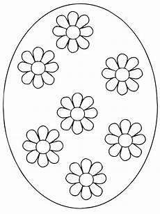 Ostereier Malvorlagen Challenge Design Flower Easter Eggs Coloring Page Free Coloring