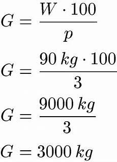 grundwert berechnen formel beispiele und definition