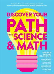 2018 19 school poster discover your path with science and