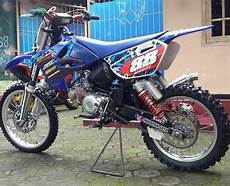 Jupiter Z Trail by Bebek Modif Jupiter Z Grasstrack Ala Motor Cross Terbaru