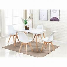 Ensemble Table Et Chaise Scandinave Pas Cher Ou D Occasion