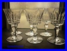 bicchieri di baccarat 6 bicchieri di cristallo baccarat piccadilly 11 5 cm