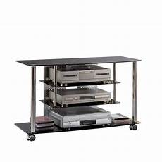 tv rack eckomy glas metall home24
