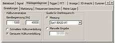 fft analyse softwaremodul