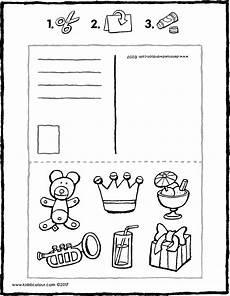 postkarte geburtstag kiddimalseite