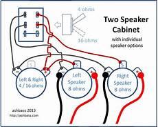 2xx speaker cabinet wiring