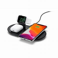 mophie 3 in 1 wireless ladestation schwarz apple de