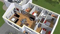 plan maison moderne 3d plan maison moderne 3d idees images