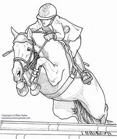 dressage coloring pages at getcolorings free