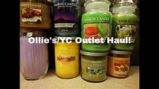 outlet candele ollie s yankee candle outlet haul