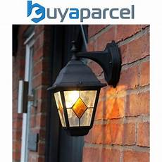outdoor victorian style porch wall light stained glass mains powered lantern for sale online ebay