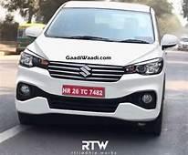 2018 Maruti Suzuki Ertiga MPV India Launch Price Specs