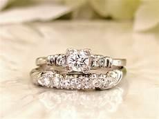 wedding ring sets in platinum platinum engagement ring 0 66ctw diamond wedding ring
