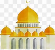Masjid Vektor Hitam Gambar Islami