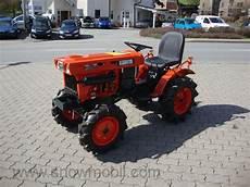 kleintraktor allrad traktor kubota b6001 neu lackiert