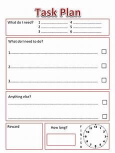 task plan for sen child by senteacher86 teaching resources