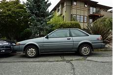 Toyota Corolla Gt - seattle s parked cars 1987 toyota corolla gt s
