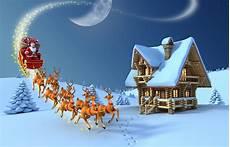 Malvorlagen Weihnachtsmann Haus Bilder Hirsche Neujahr Schlitten 3d Grafik Weihnachtsmann