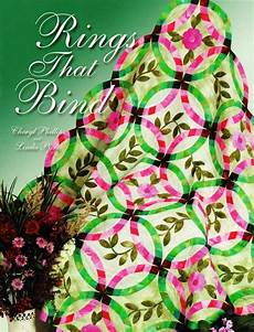 rings that bind double wedding ring quilt pattern book w template ebay