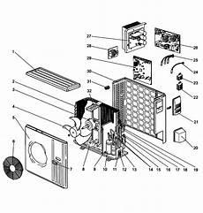 mitsubishi split system a c heat pump parts muyd36na1 sears partsdirect