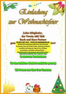 einladung zur weihnachtsfeier weihnachtsgru 223 karte selbst
