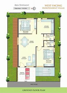 west facing house plans per vastu west facing house plans