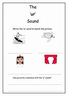 phonics ur sound worksheet by laurenstuart teaching resources